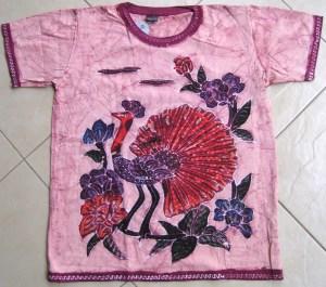 Batik on t-shirt 03