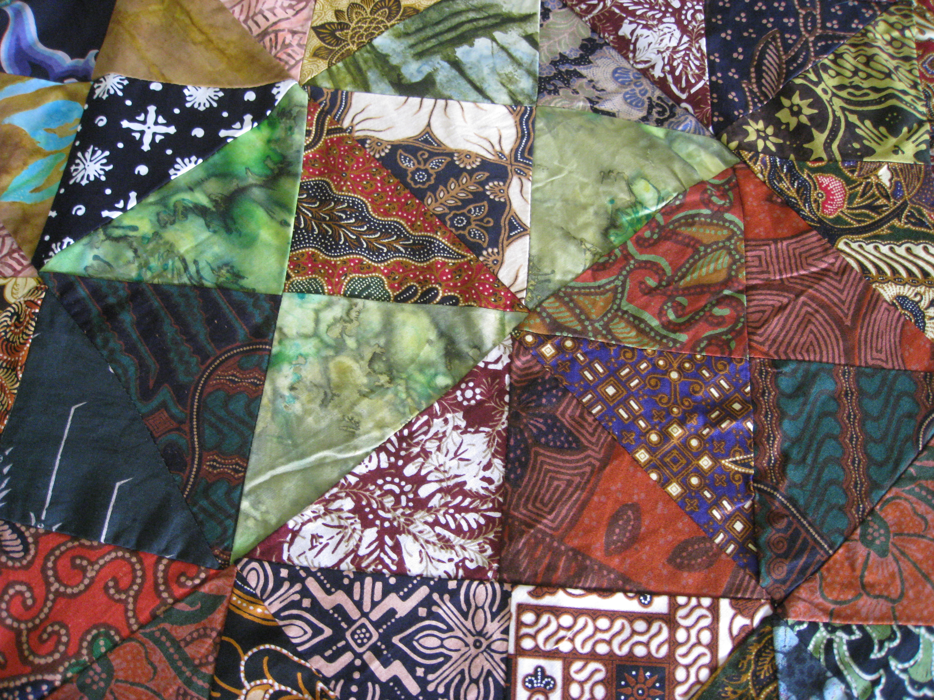 Batik Bed Cover Indonesia Batik Corner