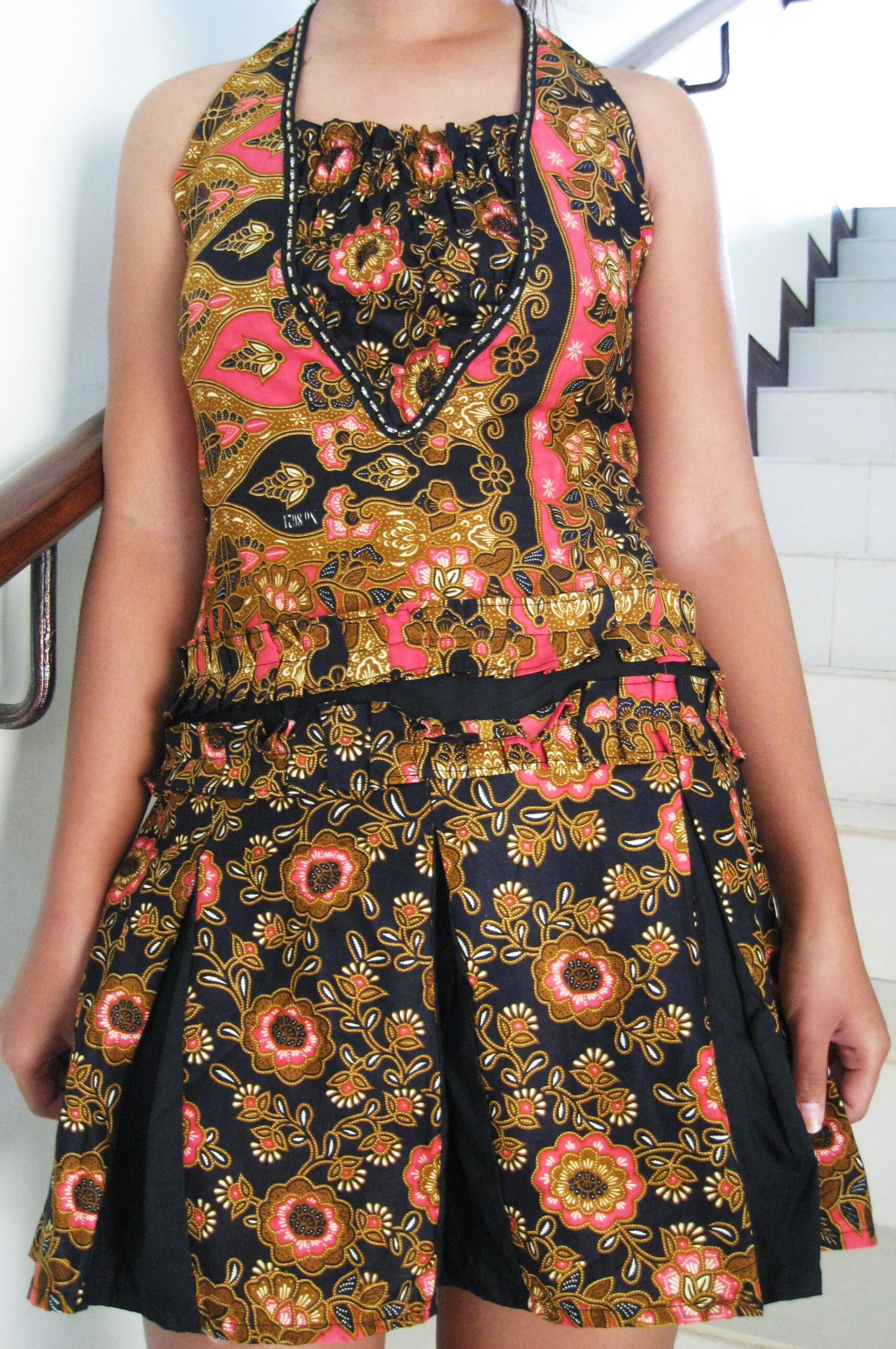 batik sack dress | Indonesia Batik Corner