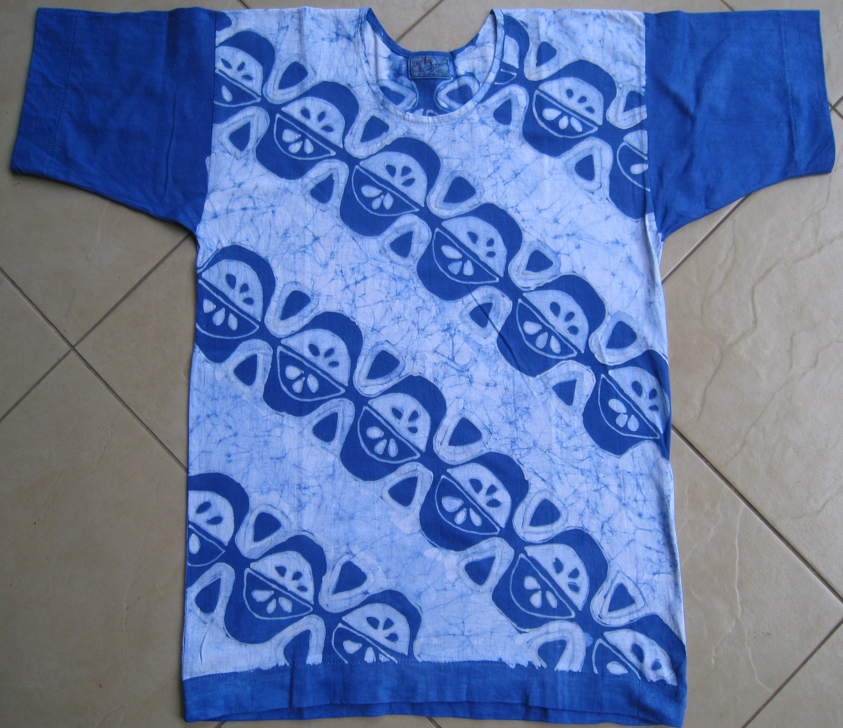 Hand Painted Batik T-Shirt