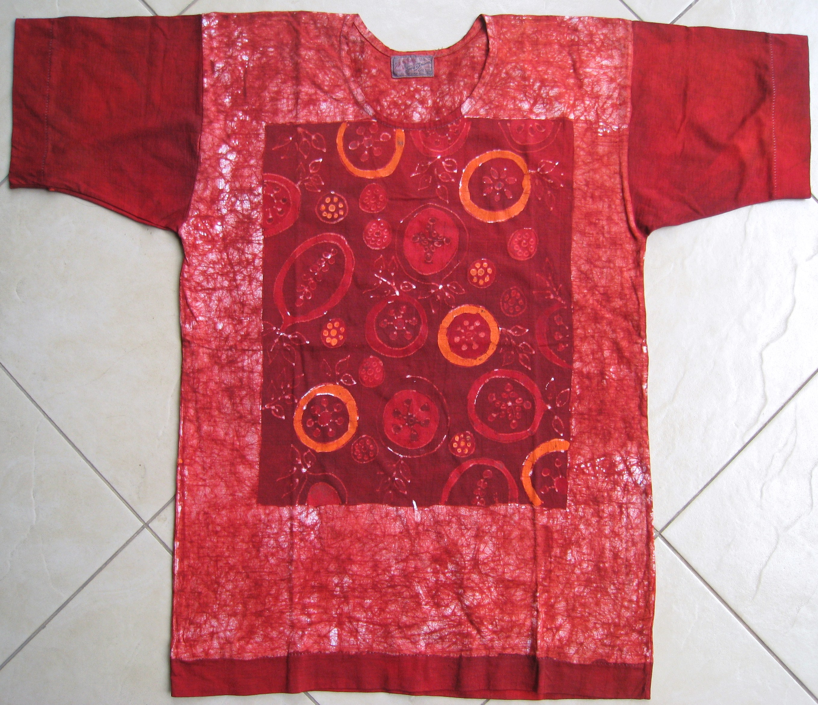 hand painted batik t shirt indonesia batik corner. Black Bedroom Furniture Sets. Home Design Ideas